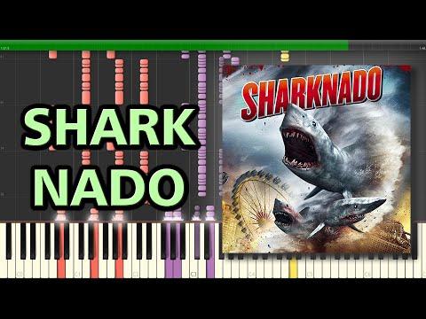 The Ballad of Sharknado - Quint | Synthesia Piano Tutorial
