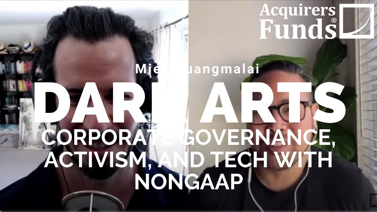 Dark Arts: Mike Puangmalai on activism and governance tricks with Tobias on The Acquirers Podcast