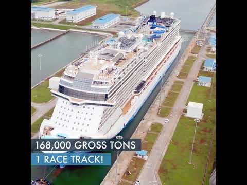 Norwegian Bliss becomes largest Panama Canal vessel