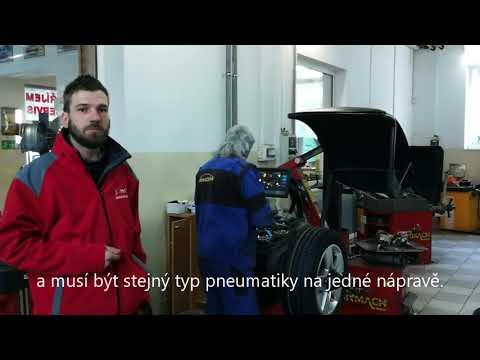 Důležitost přezutí pneumatik automobilu
