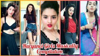 Teri Lat lag Jaagi || Haryanvi Girls Musically Compilation Tiktok India Video || Viral Fun Ka Pitara