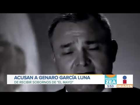 Acusan a Genaro García Luna de recibir sobornos del Cártel de Sinaloa | Noticias con Francisco Zea