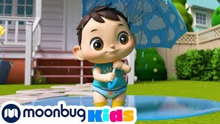 Rain Rain Go Away - Playing in Puddles with Friends | Kids Songs | Nursery Rhymes | Sleep Baby Songs