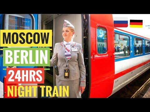 24 HOUR TRAIN FROM MOSCOW TO BERLIN | TALGO SLEEPER TRAIN