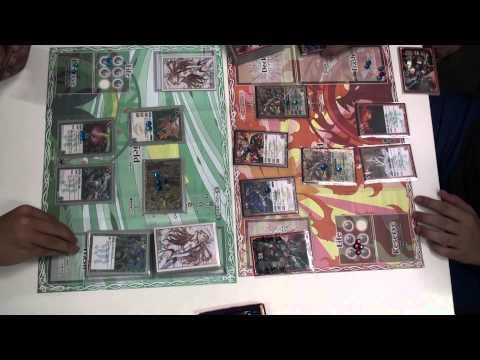 [BS] [foul play] Klaus(Nero's Kingtaurus Deck) Vs Chris (Nark's Gai Asura)