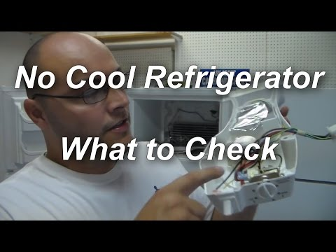 Easy Refrigerator Fix Reset Defrost Timer Switch If