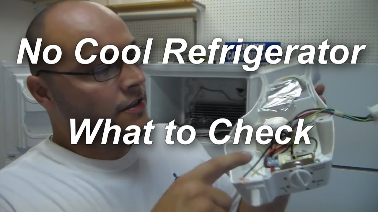 Refrigerator Not Cooling What To Check Youtube