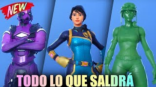 **FILTRATION** ALL THAT WILL BE AVAILABLE IN FORTNITE THE NEXT WEEKS (SKINS, BAILES, ENVOLTORIES...)