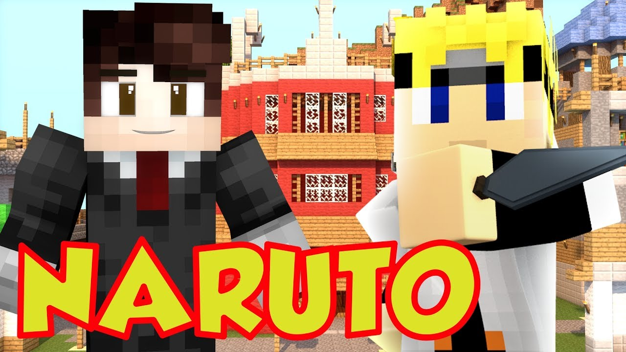 Minecraft NARUTO - Tale of Naruto (Minecraft Roleplay Map)
