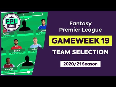 FPL GW19: TEAM SELECTION | Play the Bench Boost? | Double Gameweek 19 | Fantasy Premier League Tips