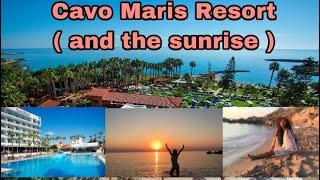Cavo Maris Resort ( and the sunrise)