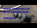 How to thaw a frozen sewer pipe to your septic tank! DIY
