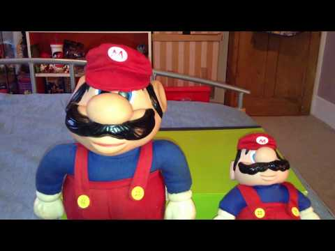 1989 Vintage Applause Super Mario Bros Doll Review + Bloopers!