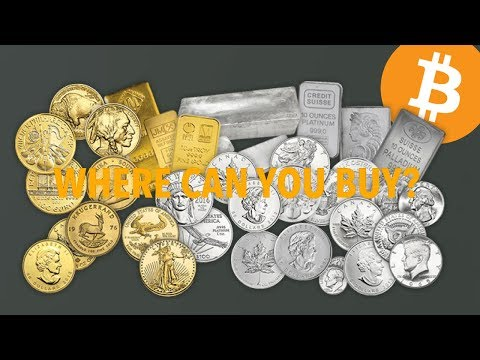 Where Can You Buy Gold And Silver With Bitcoin   BTC $5885