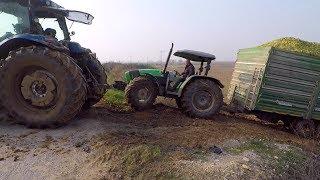 Traktör Şöförü Panik Yaptı