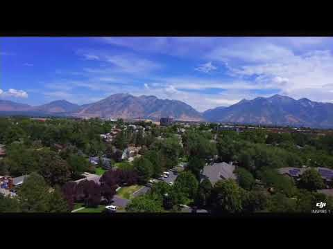 Aerial Motion in Salt Lake Valley with DJI Inspire 1