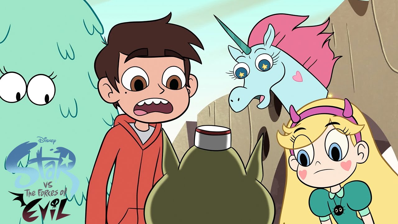 Sexy star vs the forces of evil
