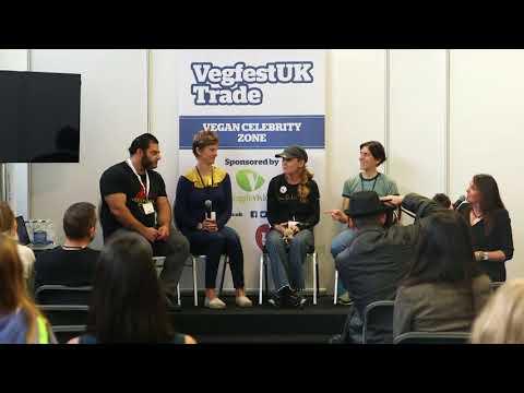 VegfestUK Trade 2017 - Vegan Sports Stars Panel