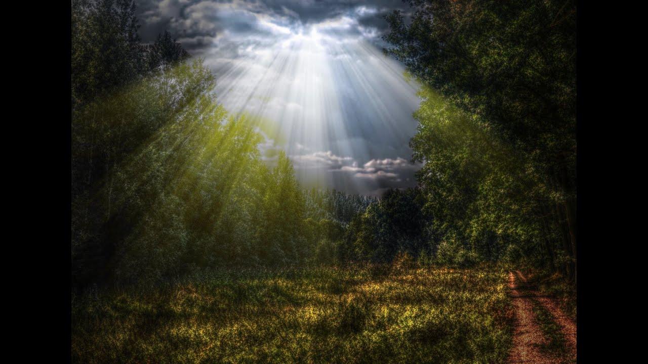 adobe photoshop tutorial creating natural sun rays