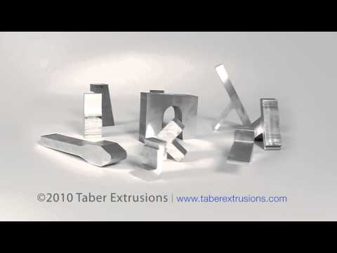 Aircraft and Aerospace Aluminum Extrusion Group by Taber Extrusions