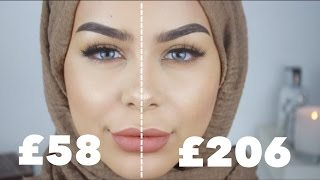 Contour & Highlight Routine Drugstore VS High End