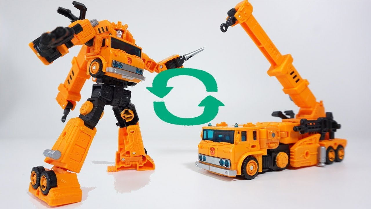 Transformers War for Cybertron Earthrise Voyager Grapple