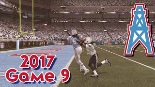 Madden 15 Franchise Mode - Houston Oilers | Season 4, Game 9 vs Chargers