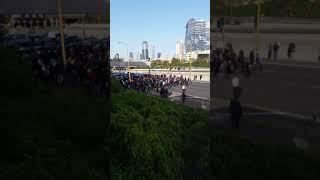 הפגנה של יוצאי העדה האתיופית בתל אביב Ethiopian Israelis protest in Tel Aviv, 1, 30, 2019