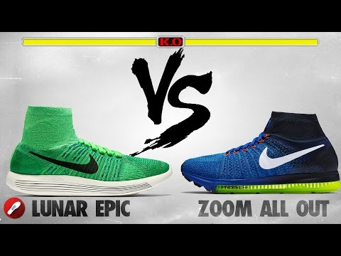 Nike LunarEpic Flyknit Vs Nike Zoom All Out!
