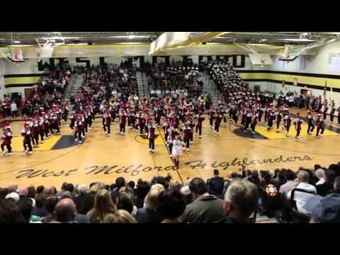 CHS Mustang Marching Band - West Milford Tattoo 2015 (Part 1 of 2)