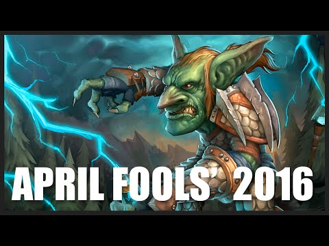 Hilarious Patch Notes! Blizzard's April Fools' Jokes of 2016 - World of Warcraft