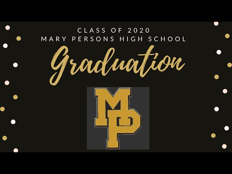 Mary Persons High School Class of 2020 Graduation