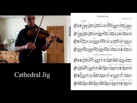 Irish Fiddle - Cathedral Jig Part 1/3