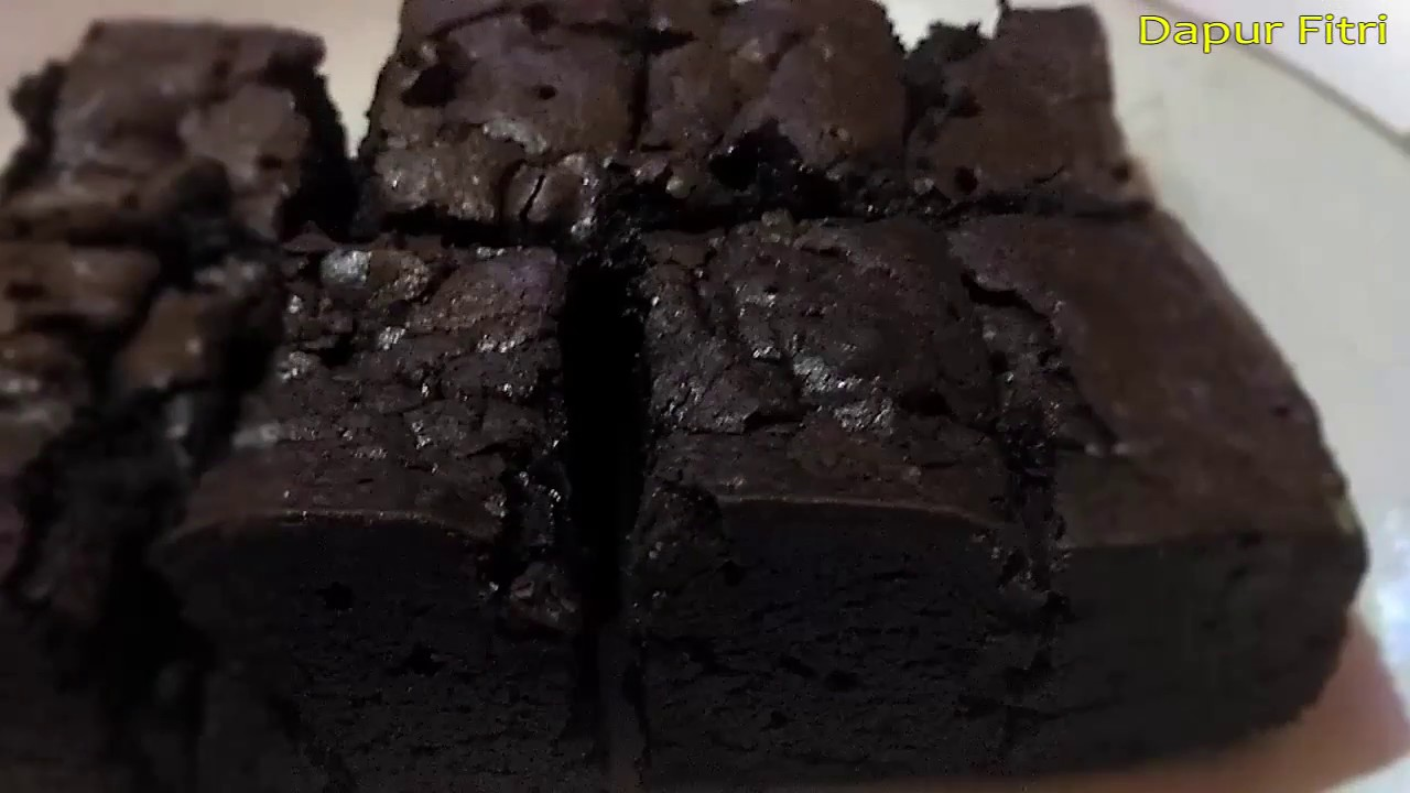 Resep Dan Cara Mudah Membuat Brownies Panggang Original Enak