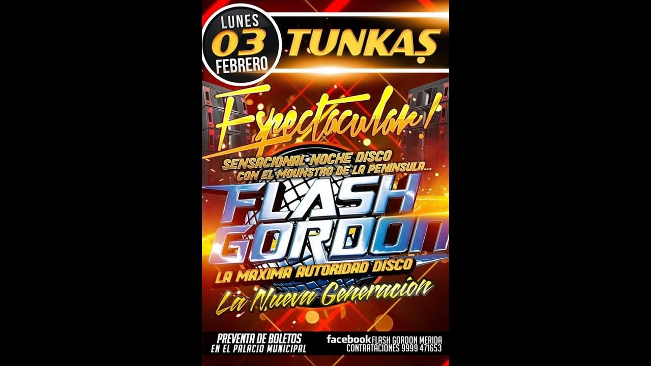 Download FLASH GORDON EN LA FERIA DE TUNKAS YUCATAN 2020