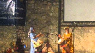 Mama Bi Kidude (95-year-old at the time) performing in Stone Town, Zanzibar June 2007 (clip 1)