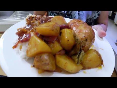 Chicken Asado Recipe Sunday Dinner, Valencia Negros Oriental Philippines