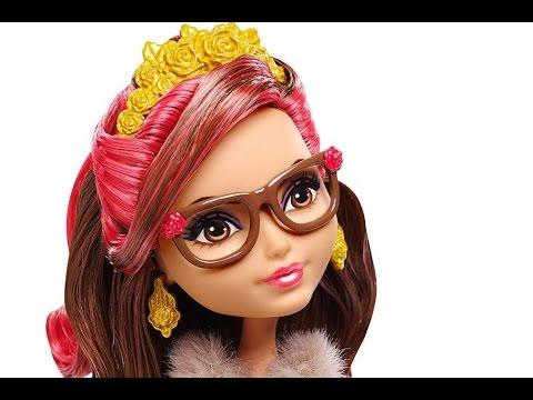 Обзор+распаковка на куклу Эвер Афтер Хай из коллекции Пижамная .