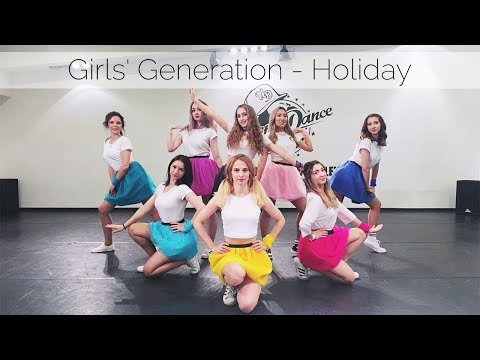 Girls' Generation 소녀시대 (SNSD) - Holiday  Cover By X.EAST