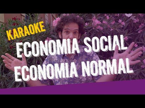 Economia social, economia normal