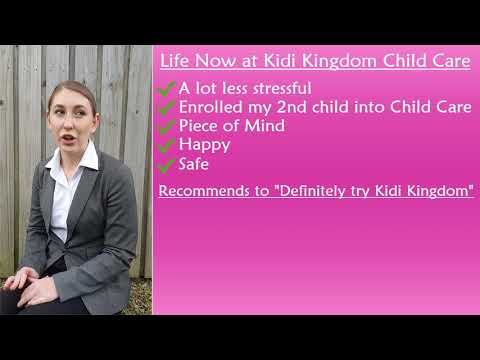 """""""STRESSFUL"""" Parent Review & Rating by Shelby McCafferty Part 2 of 2 - Kidi Kingdom Child Care"""