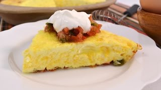 Mexican Omelet Recipe - Easy Baked Omelette | Radacutlery.com