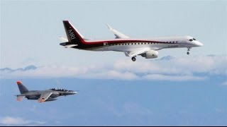 国産旅客機MRJ初飛行の雄姿 2015/11/11 離陸ー着陸/Mitsubishi regional jet first flight takeoff & landing