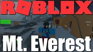 Roblox - Mt. Everest Climbing Role Play!