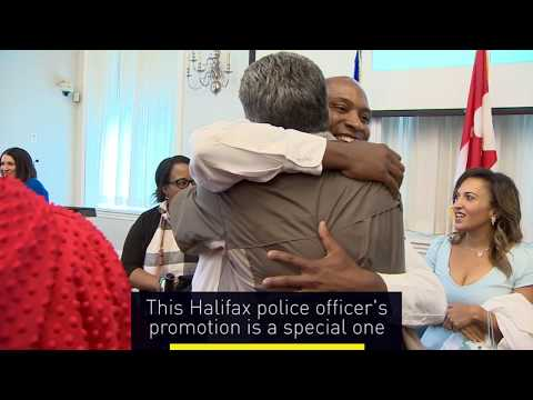 Officer who made his mark in Uniacke Square rises through ranks to inspector