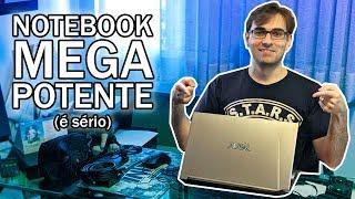 Meu Notebook Novo é MUITO POTENTE! | Laptop Avell com RTX 2070, Intel i9 e 32GB de RAM!