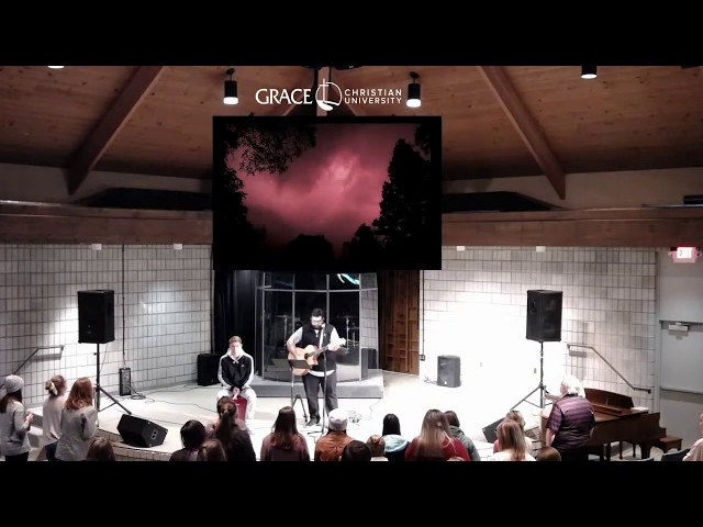 1 22 20 Wednesday Teaching Chapel with Philip Long