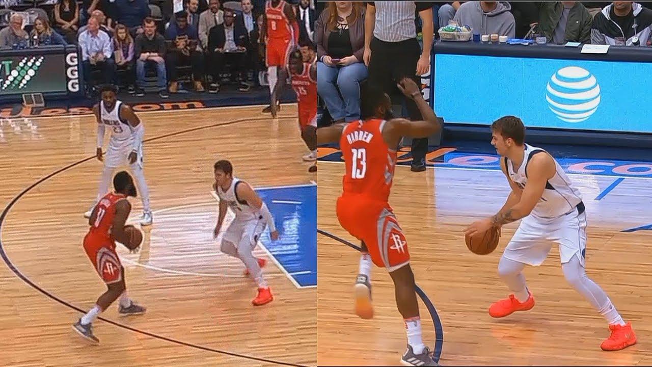 james-harden-shows-luka-doncic-he-can-t-be-guarded-then-luka-gets-him-benched-for-fouls
