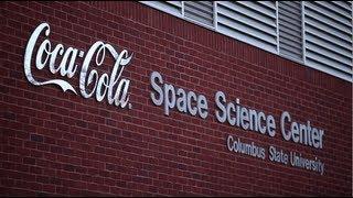 Coca Cola Space Science Center   Space Shuttle Atlantis SME Nozzle