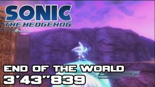 Sonic 06: End of the World Speed Run - 3